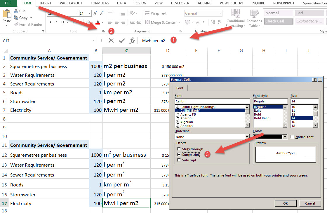 How to write excel micro