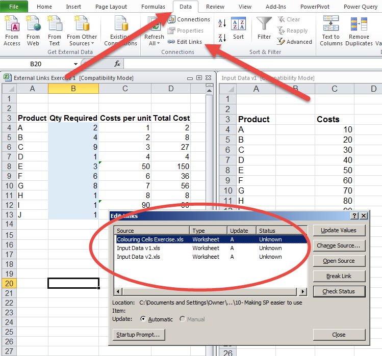 how to search and find in excel