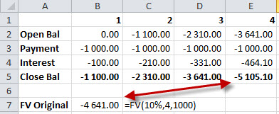 Excel-FV-not-working