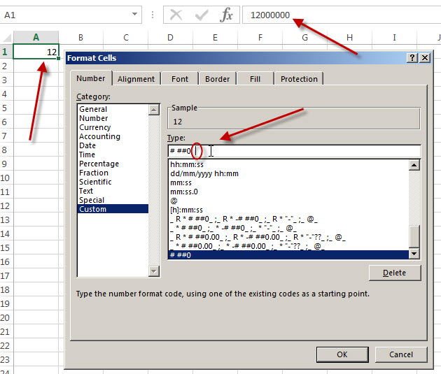 excel-custom-format-millions-with-comma