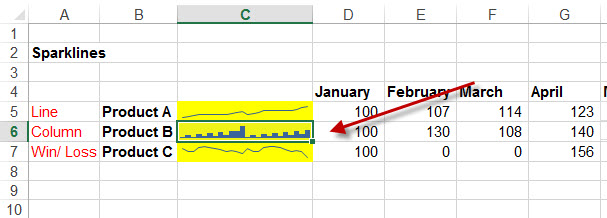 ungroup-sparklines-in-excel