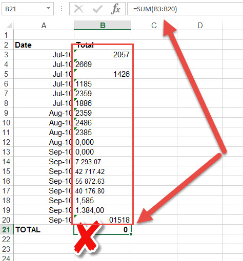 how to add a comma to multiple cells in excel