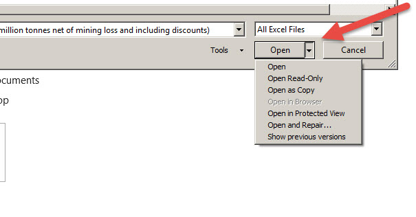 excel-open-as-options