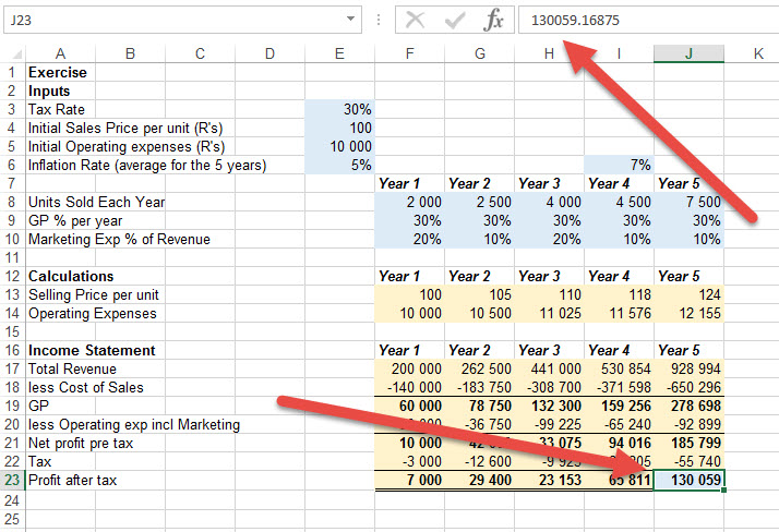 How to find inconsistent formulas in excel 9