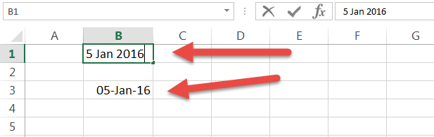 Safest Way to enter a date in Excel