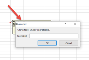 Excel asking for a password on an unprotected file