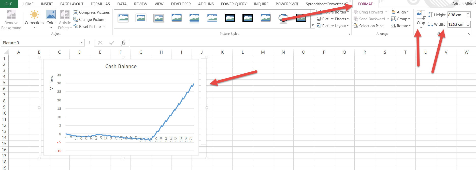 Only Print The Graph In Excel O AuditExcelcoza