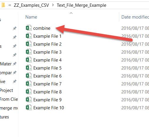 merge multiple csv files