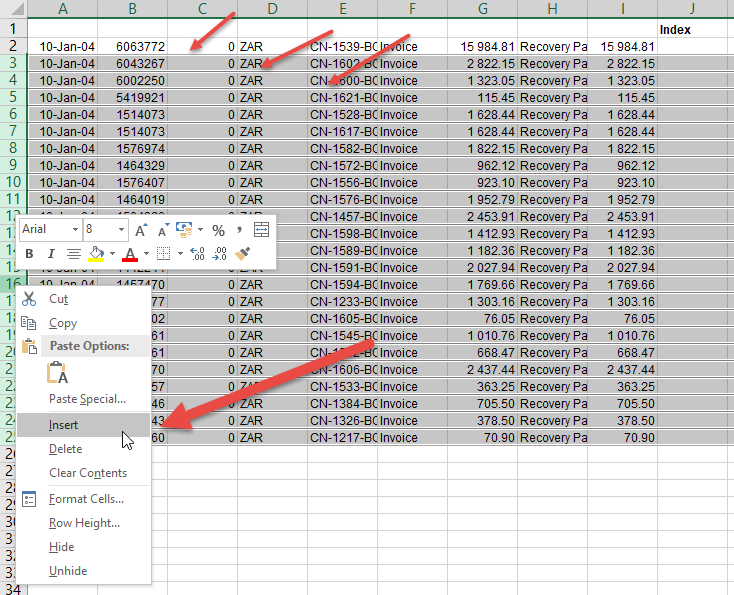 How to insert blank rows in excel automatically • AuditExcel