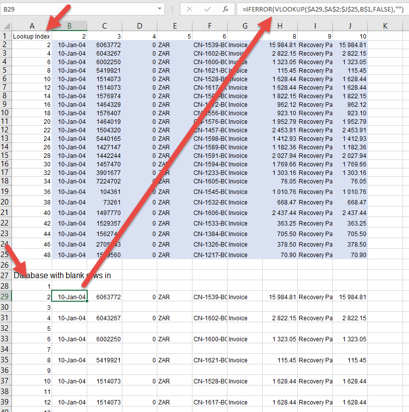 How to insert blank rows in excel automatically