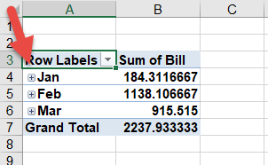 Turn off automatic date and time grouping in Excel Pivot Tables