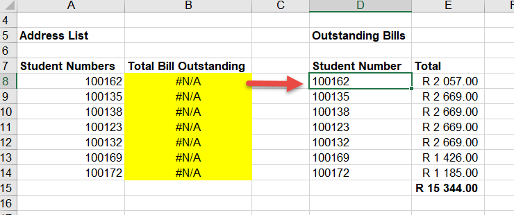 Vlookup not finding a value that is there