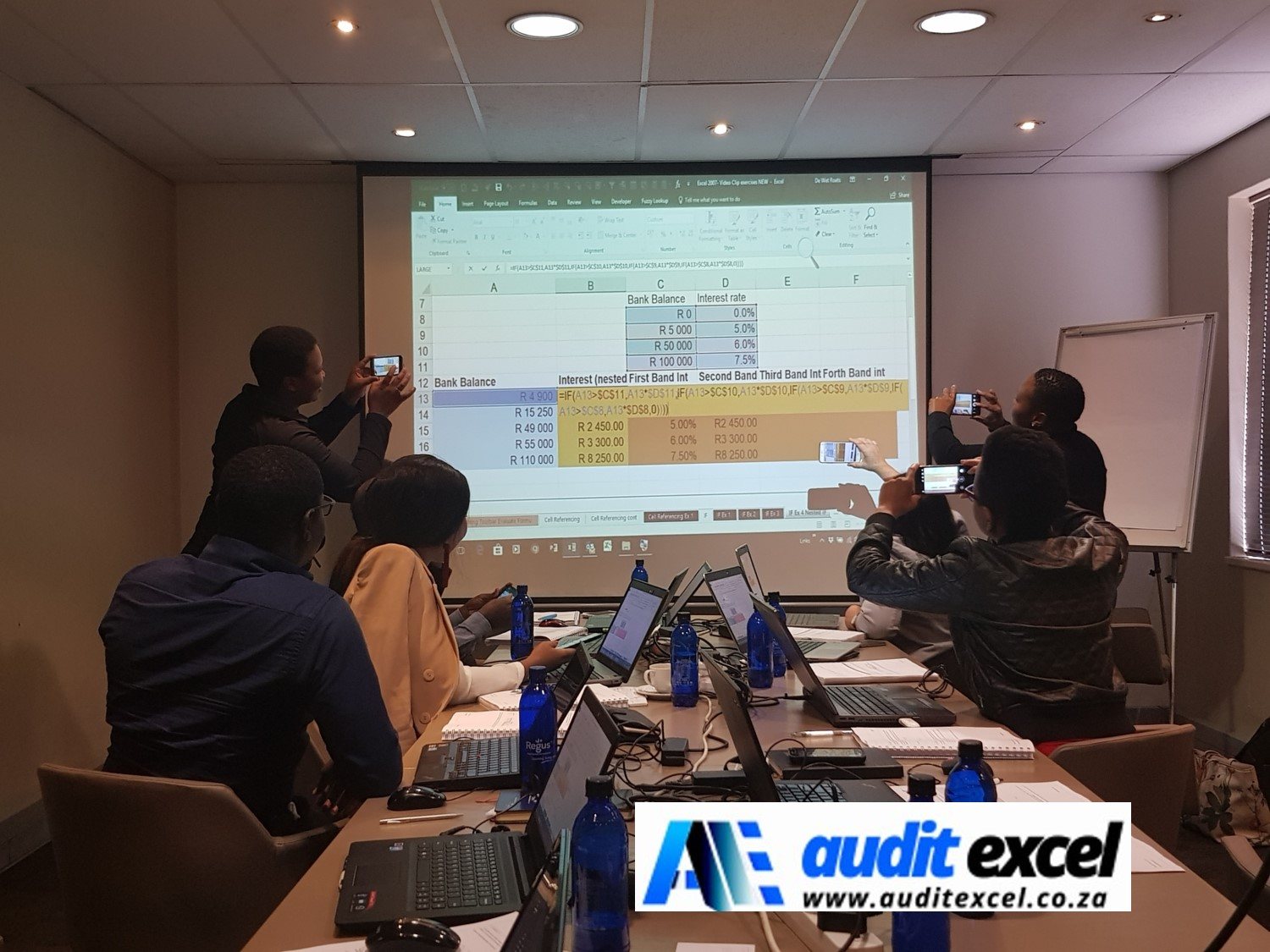 Excel course dates guaranteed