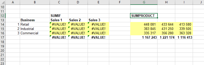 SUMIFS returns value when linked workbooks are closed