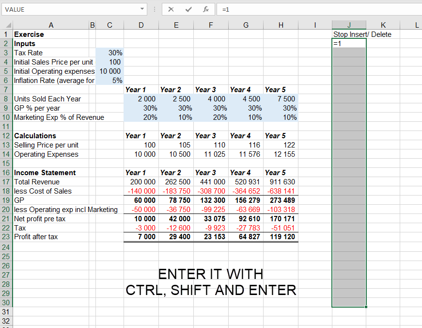 Stop Excel users from inserting or deleting rows