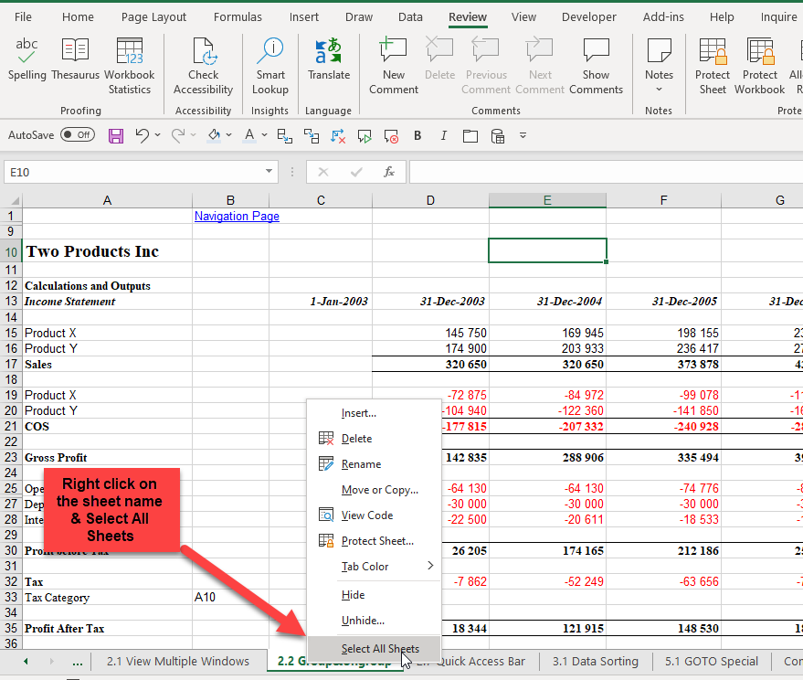 spell check excel documents