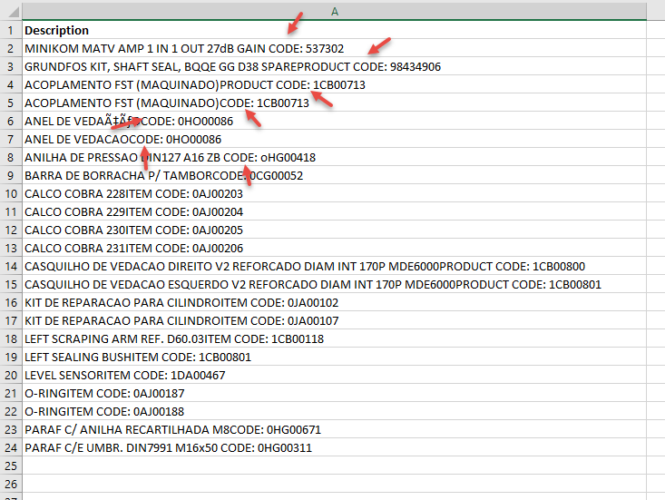 Using multiple character as delimiters in Excel Text to Column