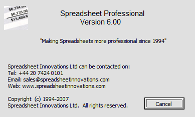 Spreadsheet Professional Download